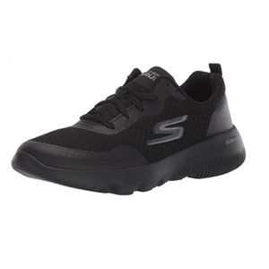 Skechers GOrun Focus Black Lace Up Low Top Running Trainer Sneakers Shoes 8.5